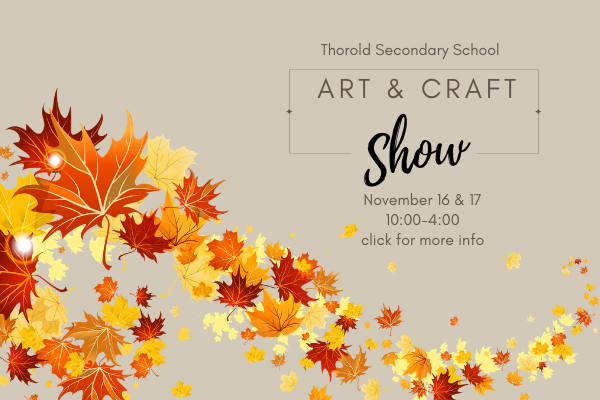 Thorold Secondary School Art and Craft Show